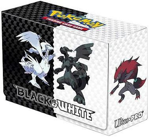 Ultra Pro Pokemon Trading Card Game Black & White Deck Box [Side-Loading]