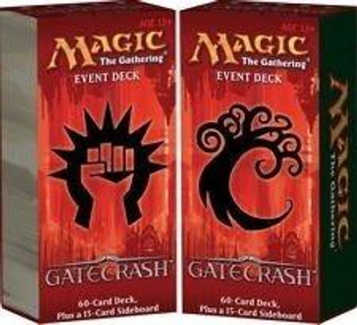 MtG Trading Card Game Gatecrash Set of 2 Event Decks