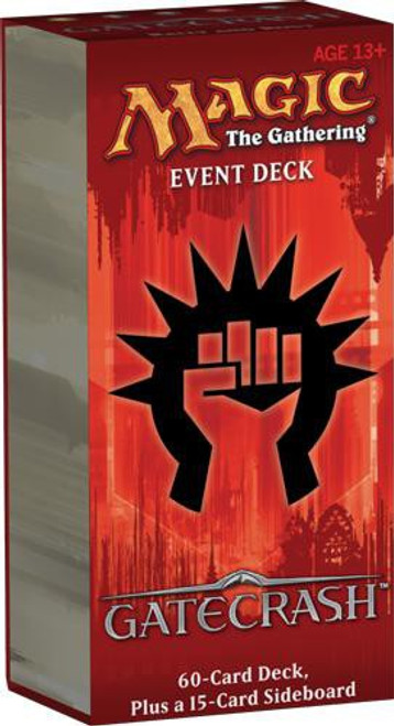 MtG Trading Card Game Gatecrash Rally and Rout Event Deck