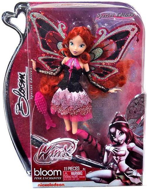 Winx Club Bloom Pink Enchantix 11.5-Inch Doll