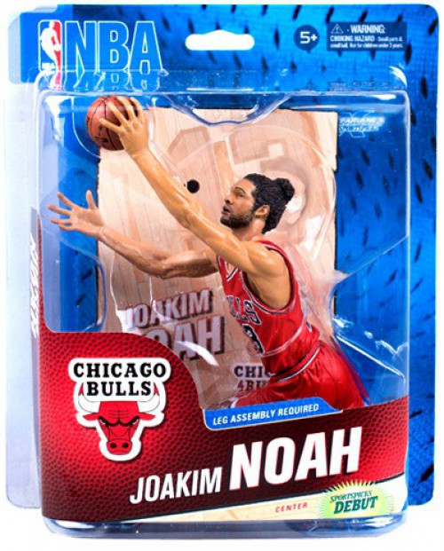 McFarlane Toys NBA Chicago Bulls Sports Picks Series 23 Joakim Noah Action Figure