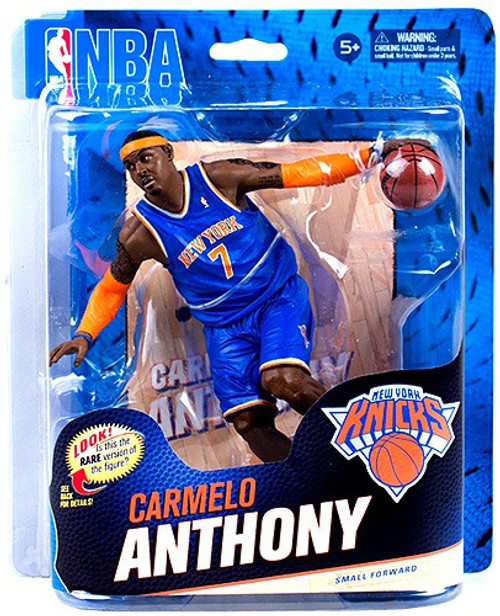 McFarlane Toys NBA New York Knicks Sports Picks Series 23 Carmelo Anthony Action Figure [Blue Jersey]