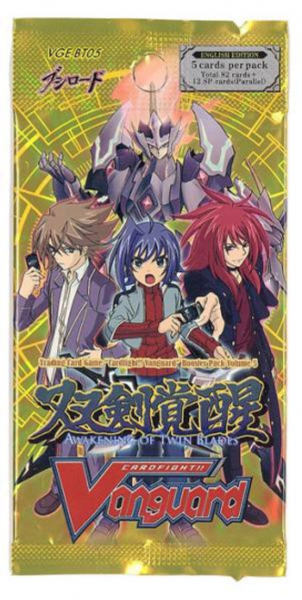 Cardfight Vanguard Trading Card Game Awakening of Twin Blades Booster Pack
