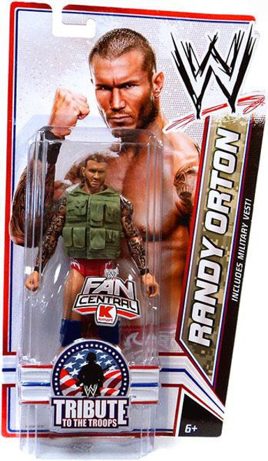 WWE Wrestling Tribute To The Troops Randy Orton Exclusive Action Figure [Green Vest]