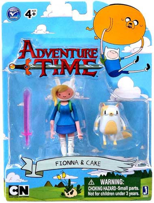 Adventure Time Fionna & Cake 3-Inch Figure 2-Pack