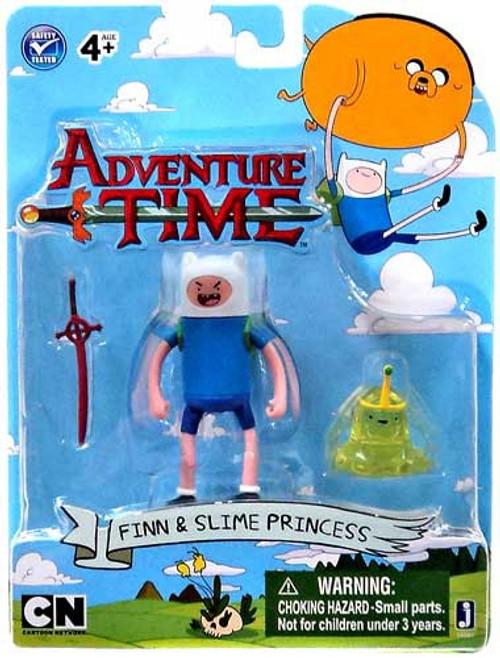 Adventure Time Finn & Slime Princess 3-Inch Figure 2-Pack