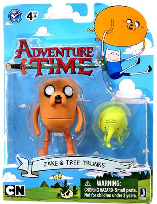 Adventure Time Jake & Tree Trunks 3-Inch Figure 2-Pack