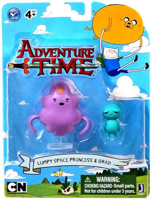 Adventure Time Lumpy Space Princess & Brad 3-Inch Figure 2-Pack