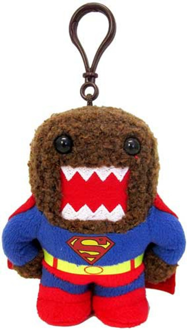 Last Son of Krypton Superman Domo 4-Inch Plush Clip On