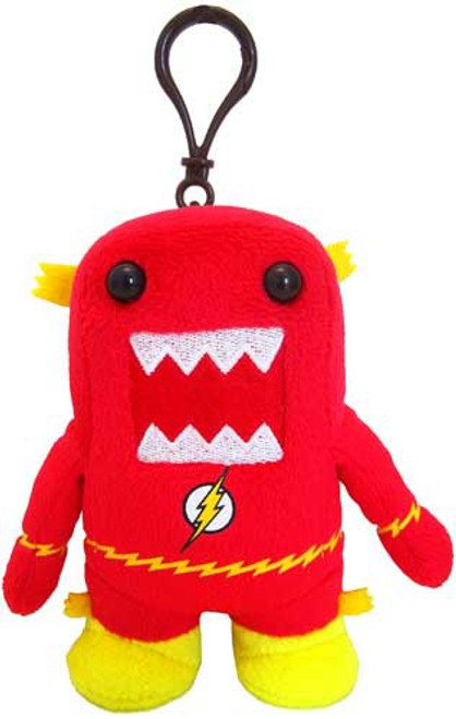 The Flash Fastest Man Alive Flash Domo 4-Inch Plush Clip On