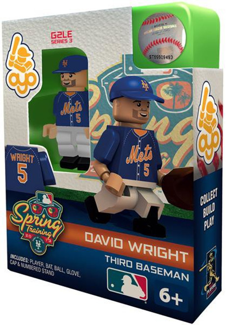 New York Mets MLB Generation 2 Series 3 David Wright Minifigure [Spring Training]
