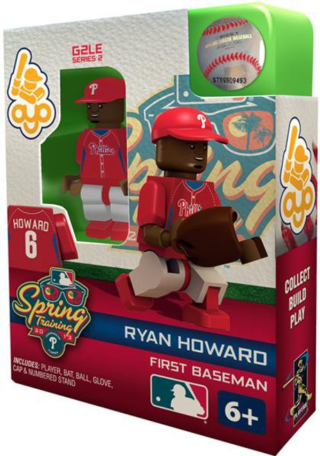 Philadelphia Phillies MLB Generation 2 Series 2 Ryan Howard Minifigure [Spring Training]