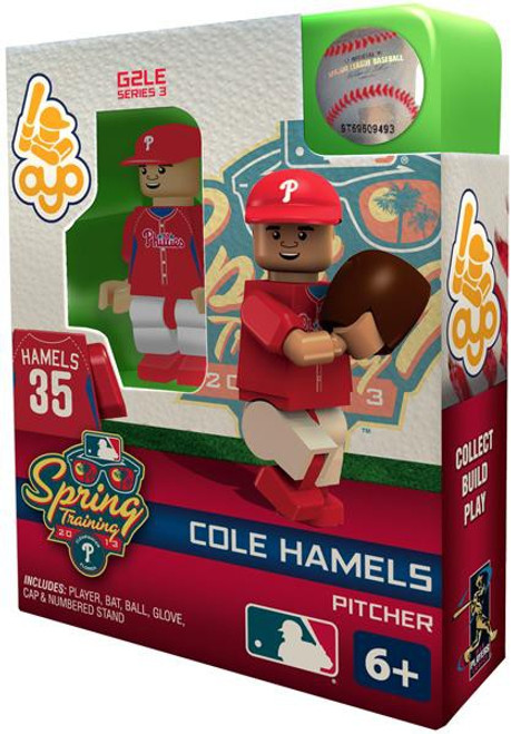 Philadelphia Phillies MLB Generation 2 Series 3 Cole Hamels Minifigure [Spring Training]