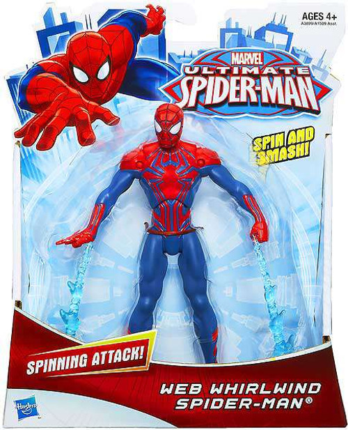 Ultimate Spider-Man Ultimate Core Web Whirlwind Spider-Man Action Figure