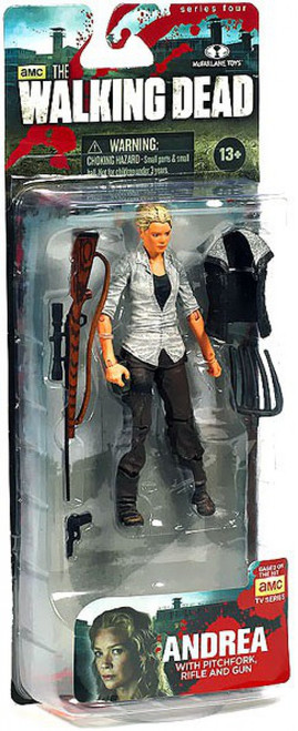 McFarlane Toys The Walking Dead AMC TV Series 4 Andrea Action Figure