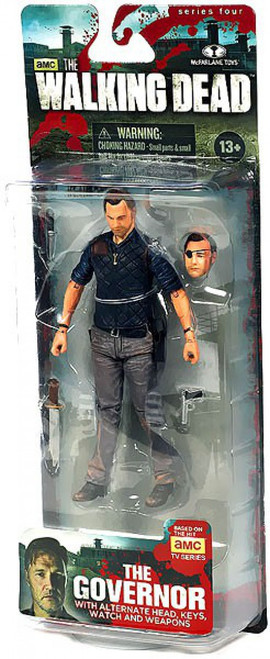 McFarlane Toys The Walking Dead AMC TV Series 4 The Governor Action Figure