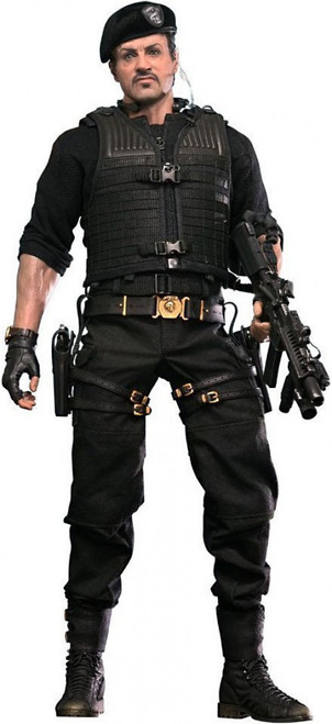 The Expendables 2 Movie Masterpiece Barney Ross Collectible Figure [2013 Version]
