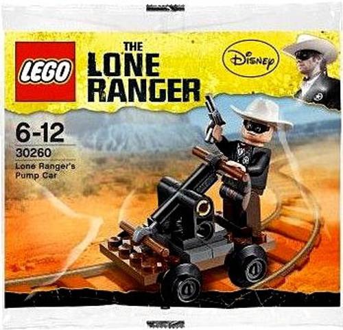 LEGO The Lone Ranger Lone Ranger's Pump Car Mini Set #30260 [Bagged]