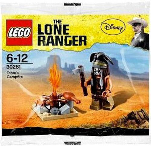 LEGO The Lone Ranger Tonto's Campfire Mini Set #30261 [Bagged]
