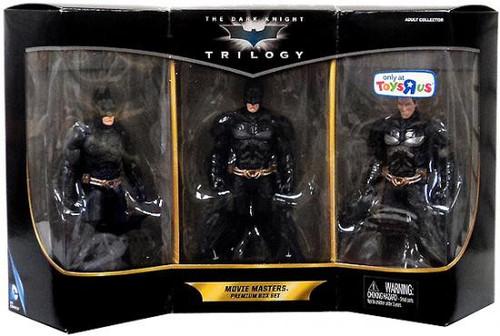 Batman The Dark Knight Trilogy Movie Masters Premium Box Set Exclusive