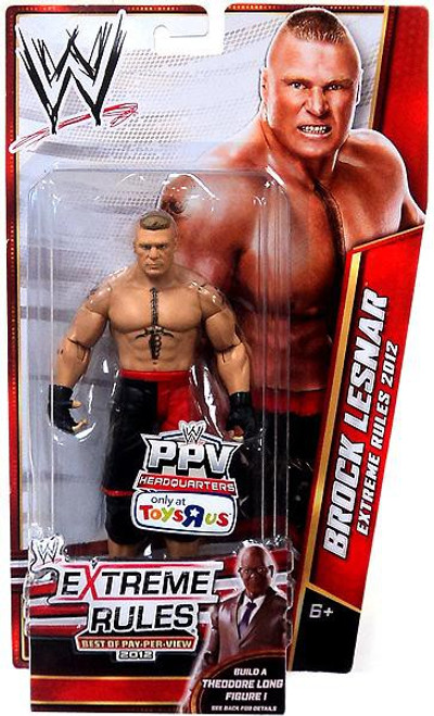WWE Wrestling Best of PPV 2012 Brock Lesnar Exclusive Action Figure