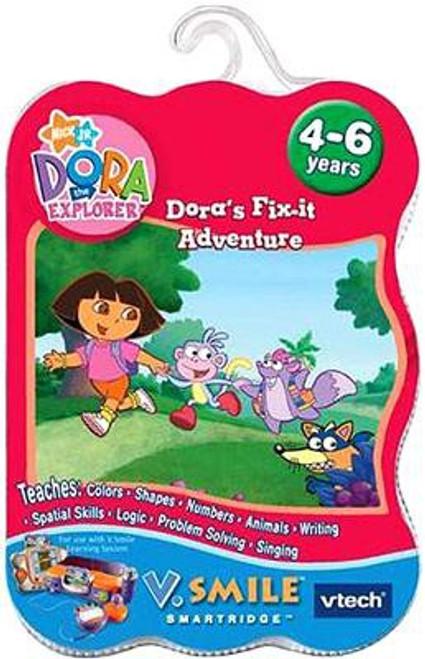 Dora the Explorer V. Smile Dora's Fix-it Adventure Video Game Cartridge