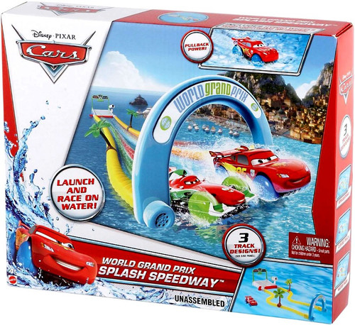 Disney / Pixar Cars Playsets World Grand Prix Splash Speedway Playset