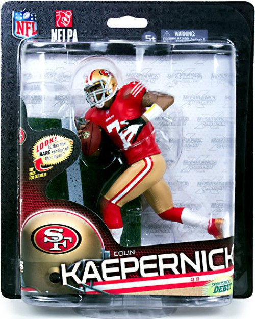 McFarlane Toys NFL San Francisco 49ers Sports Picks Series 33 Colin Kaepernick Action Figure [Red Jersey]