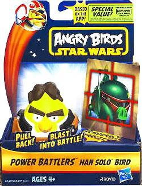 Star Wars Angry Birds Power Battlers Han Solo Bird