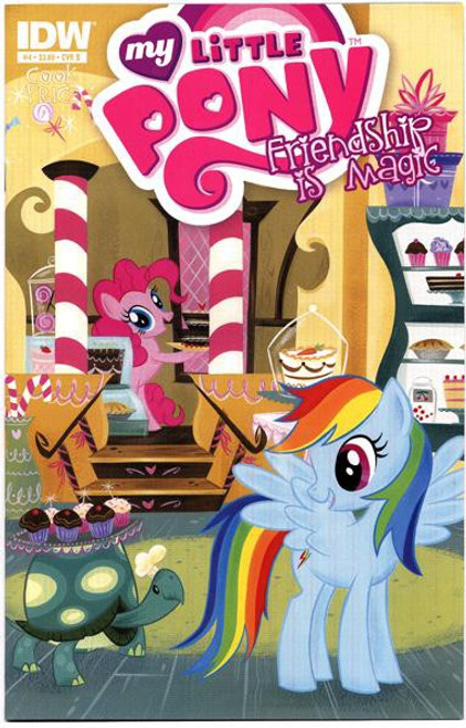 My Little Pony Friendship is Magic #4 Comic Book [Cover B]