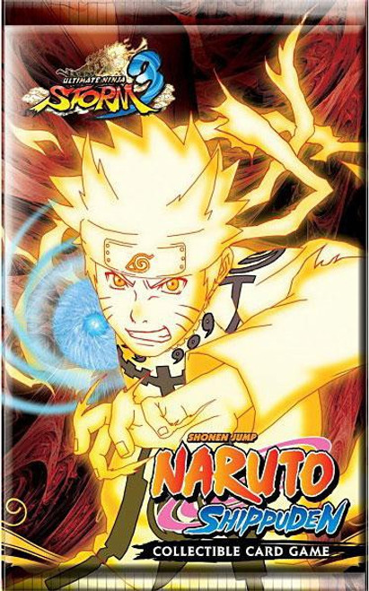 Naruto Shippuden Card Game Ultimate Ninja Storm 3 Booster Pack