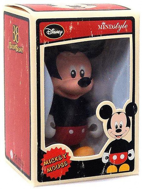 Disney Basix Beanz Series 1 Mickey Mouse 3-Inch Vinyl Figure