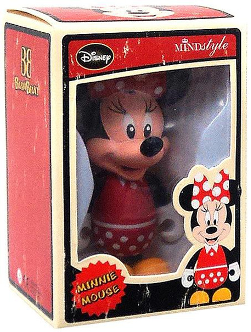 Disney Mickey Mouse Basix Beanz Series 1 Minnie Mouse 3-Inch Vinyl Figure