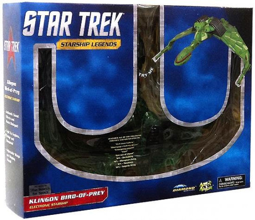 Star Trek The Original Series Starship Legends Klingon Bird of Prey Exclusive Electronic Starship [Partially Cloaked]