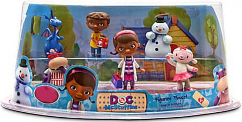 Disney Doc McStuffins Exclusive 6 Piece PVC Figurine Playset