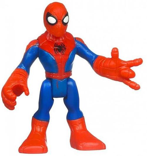 Marvel Playskool Heroes Super Hero Adventures Spider-Man [Webbed} Mini Figure [Bagged]