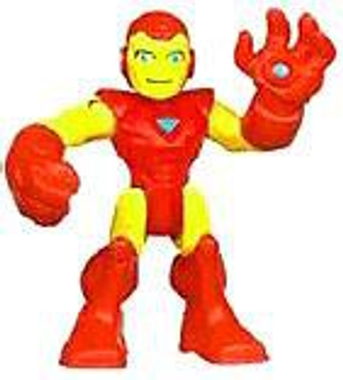 Marvel Playskool Heroes Super Hero Adventures Iron Man Mini Figure [Bagged]