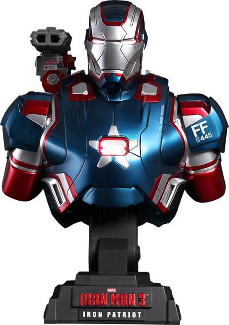 Iron Man 3 1/4th Scale Iron Patriot Bust