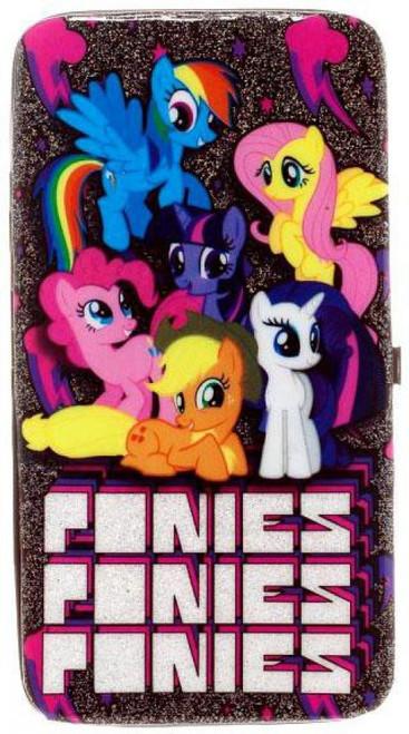 My Little Pony Mane 6 Ponies Ponies Ponies Hinge Wallet