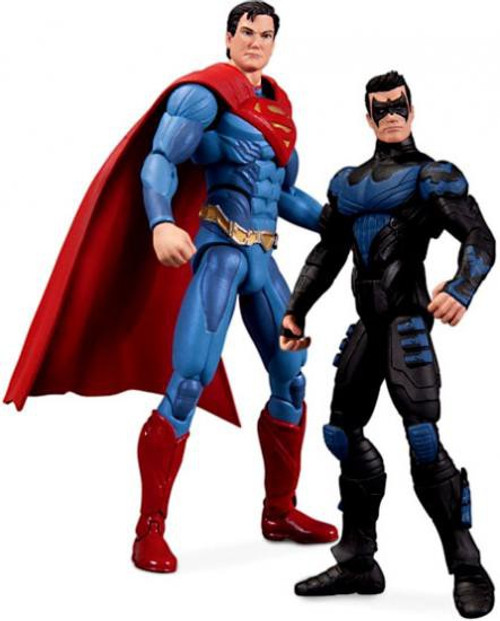 DC Injustice: Gods Among Us Nightwing & Superman Action Figure 2-Pack