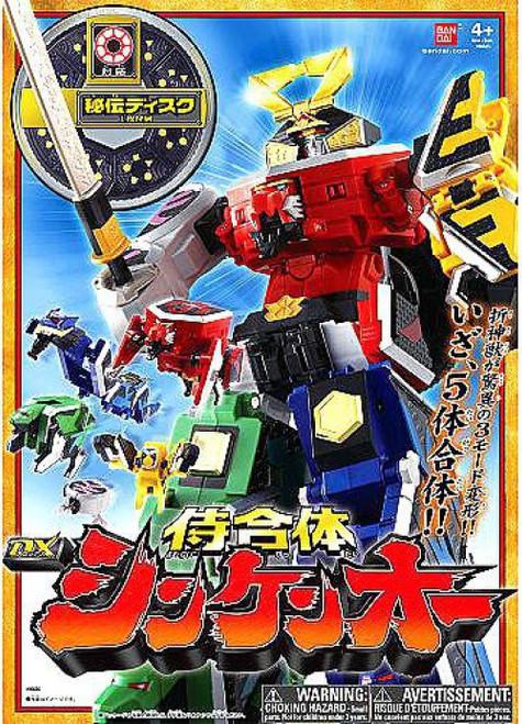 Power Rangers 20th Anniversary Deluxe Samurai Megazord Exclusive Action Figure [Japanese]
