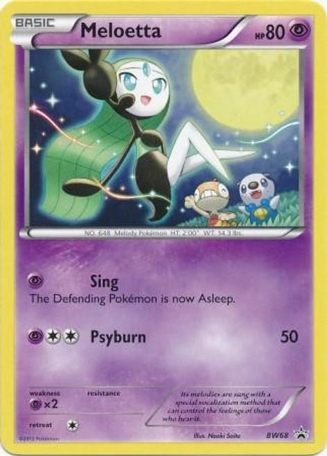 Pokemon Black & White Promo Promo Meloetta BW68