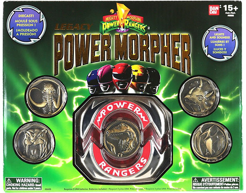 Power Rangers Mighty Morphin Legacy Power Morpher Exclusive 4-Inch Roleplay Toy