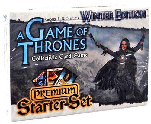 Game of Thrones Collectible Card Game Winter Edition Premium Starter Set