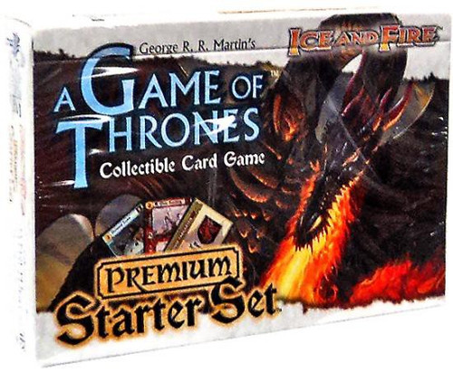 Game of Thrones Collectible Card Game Ice & Fire Premium Starter Set