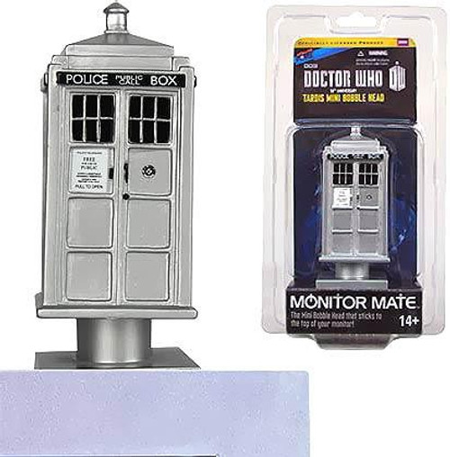 Doctor Who 50th Anniversary Monitor Mates Tardis Mini Bobble Head