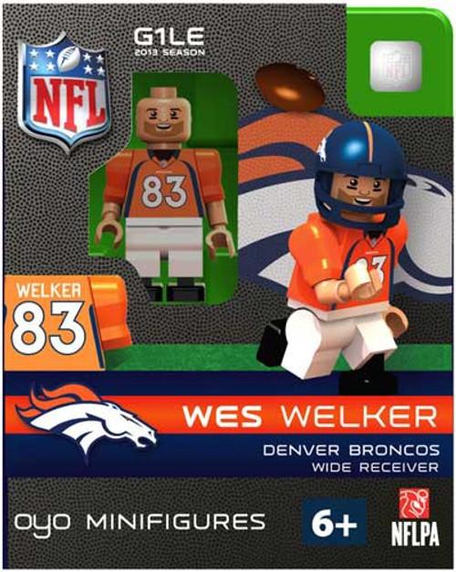 Denver Broncos NFL Generation 1 2013 Season Wes Welker Minifigure