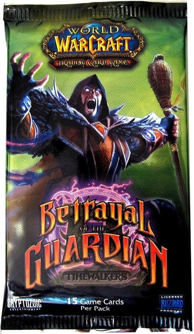 World of Warcraft Trading Card Game Betrayal of the Guardian Booster Pack