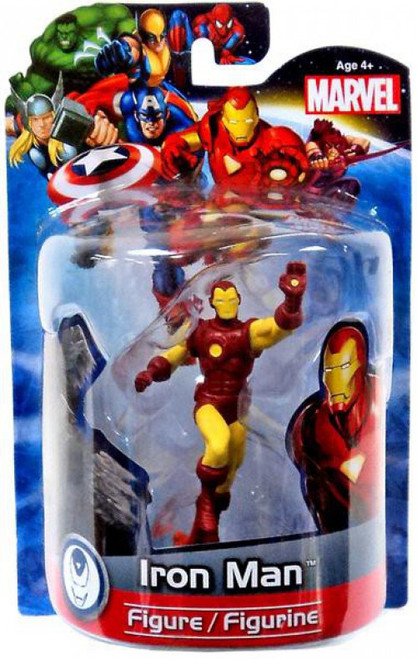 Marvel 4 Inch Deluxe Figures Iron Man PVC Figure