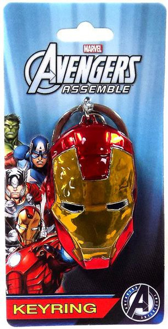 Marvel Avengers Assemble Iron Man Pewter Keychain